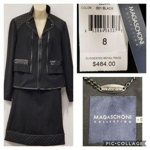2pc  MAGASCHONI Black Suit- make offer!